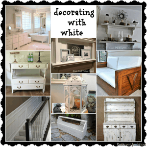 Decorating With White-9 DIY Projects To Brighten Your Day