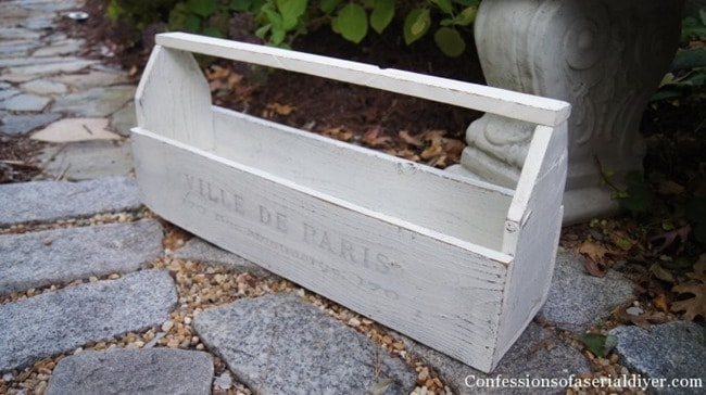 diy vintage inspired tool box by confessions of a serial diyer