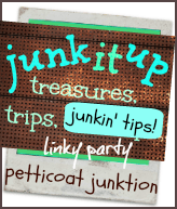 junk it up party badge
