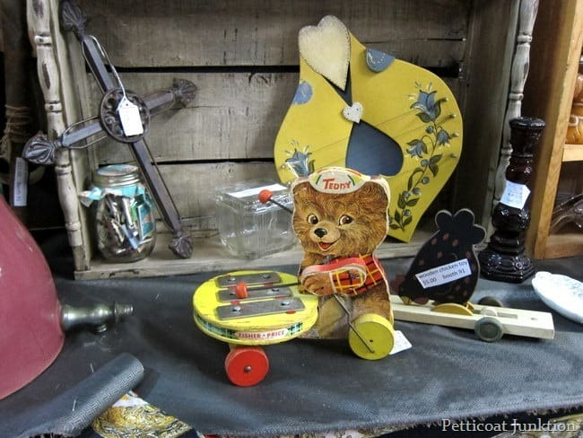 vintage toy junk shopping petticoat junktion