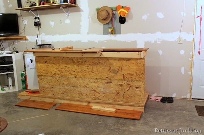 workshop bar construction