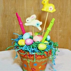 Flower Pot Easter Craft–Michaels Pinterest Party
