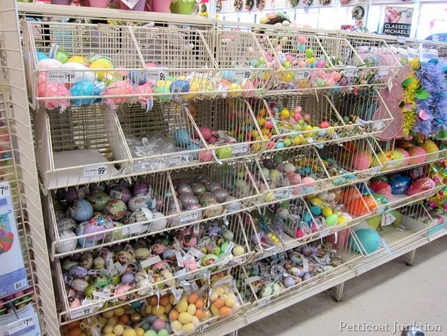 Easter craft supplies at Michaels