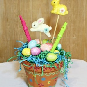 Burlap, Bling, Bunnies, and Birds-Michaels Crafts