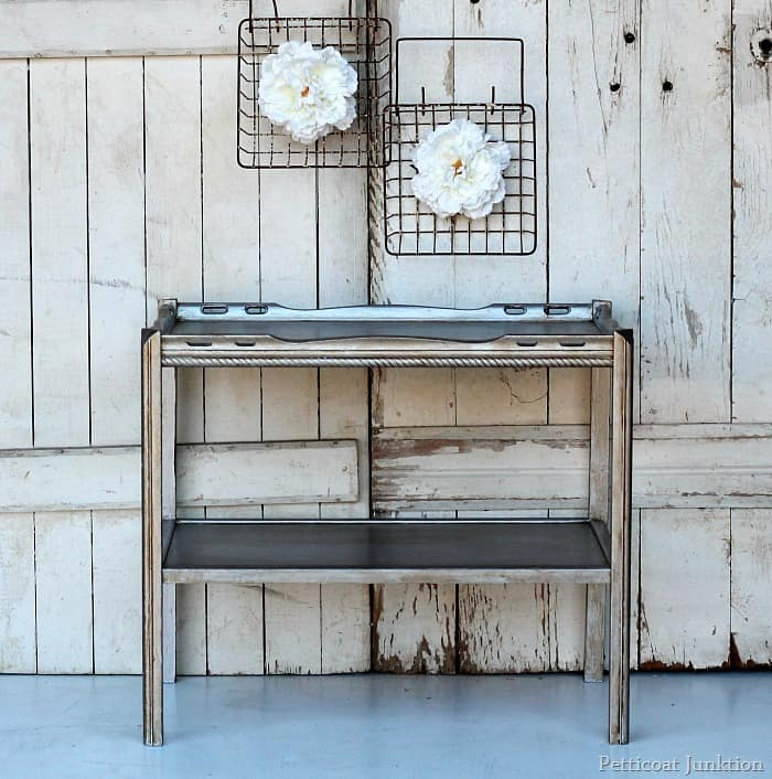 Captivating Martha Stewart Metallic Silver Paint Furniture Project