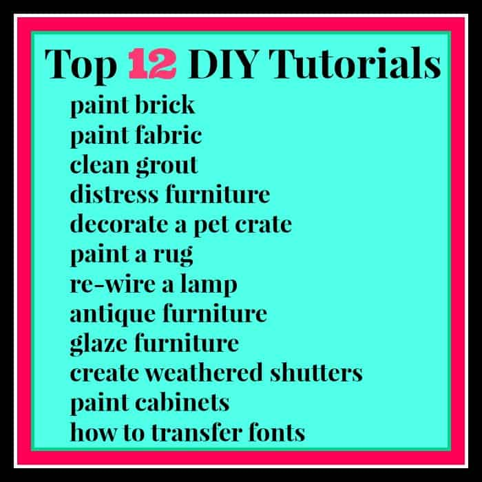 top 12 diy tutorials