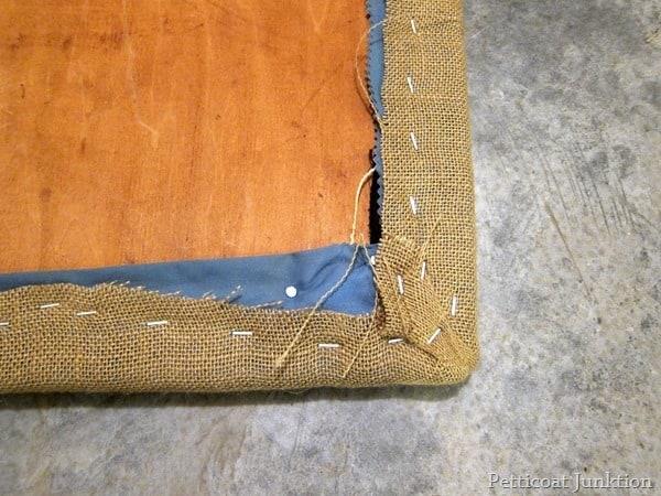 burlap chair seat cover petticoat juntkion