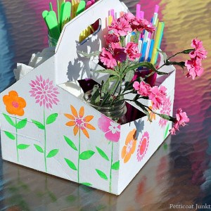 DIY Picnic Caddy And Swing Into Spring Party