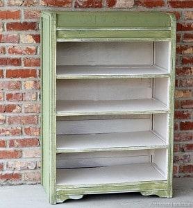Add Shelves Then Paint-Diy Furniture Makeover