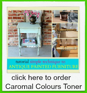 order caromal colours toner for antiquing furniture