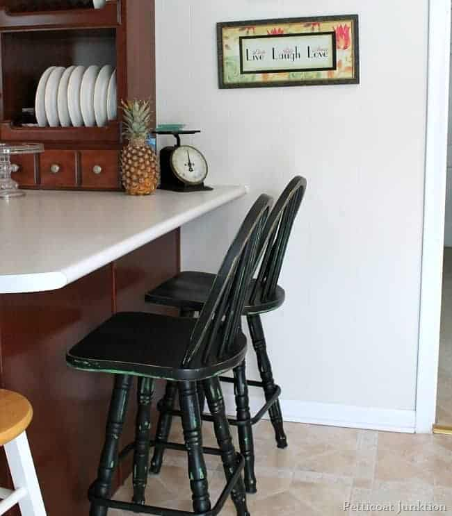 The Second Time Around Black Bar Stools Petticoat Junktion