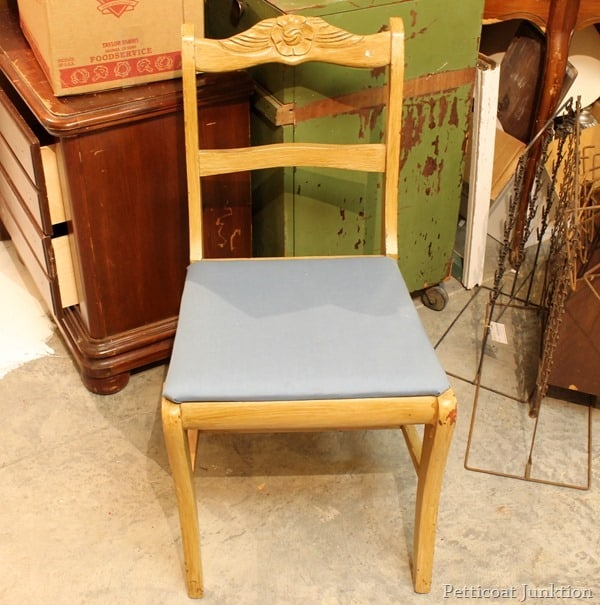 project chair before petticoat junktion