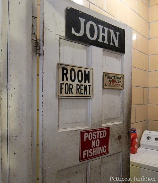 John door at my favorite junk shop Petticoat Junktion