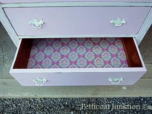pink drawer liner petticoat junktino