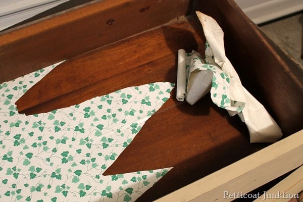 removing contact paper from drawer bottoms petticoat junktion