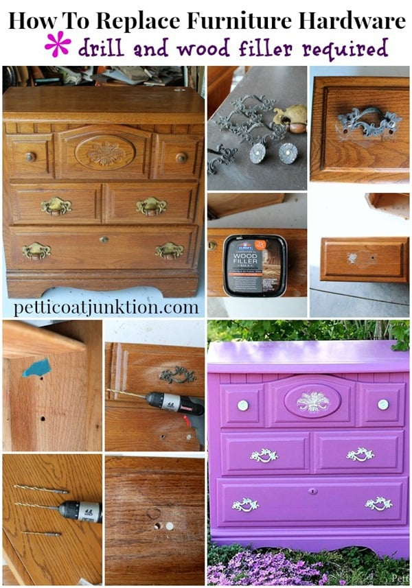 replace furniture knobs