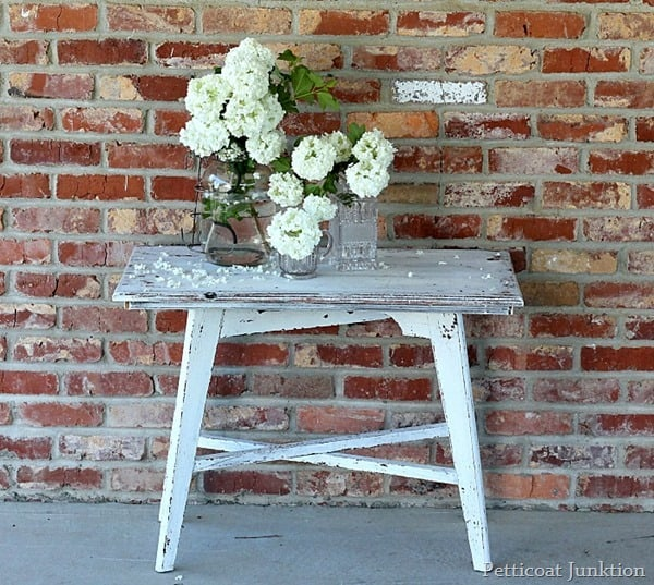 Miss Mustard Seed Paint Project by Petticoat Junktion color Ironstone