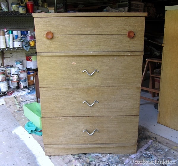 chest of drawers junk shopping trip Petticoat Junktion