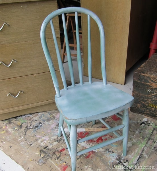 childs chair Petticoat Junktion