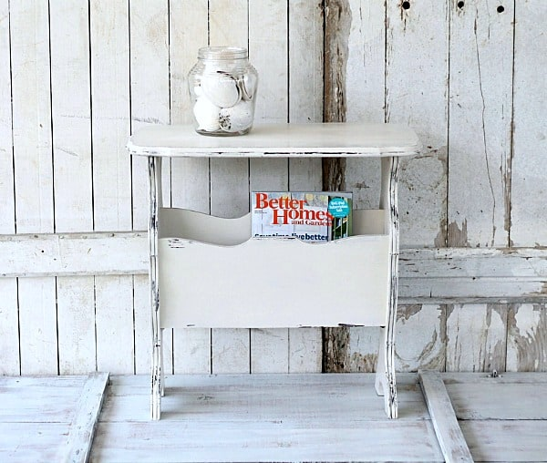 painted furniture Petticoat Junktion Cottage Chic Table 1