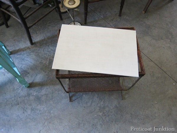 painting table project Petticoat Junktion