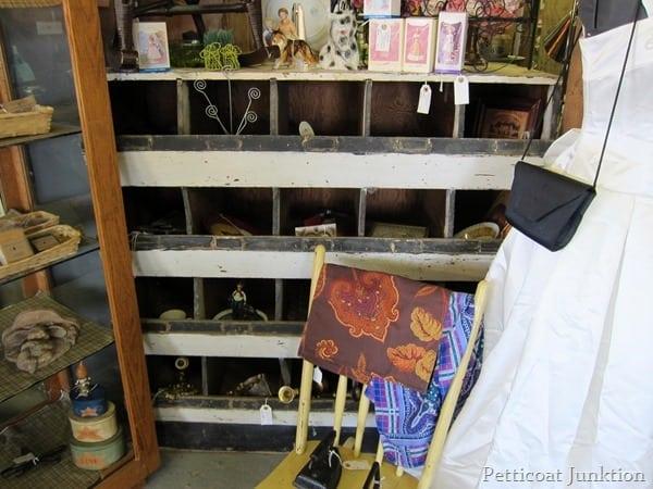 vintage wood bins Petticoat Junktion