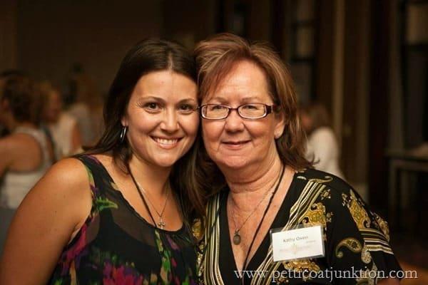 Beth and Kathy at Haven 2013 in Atlanta