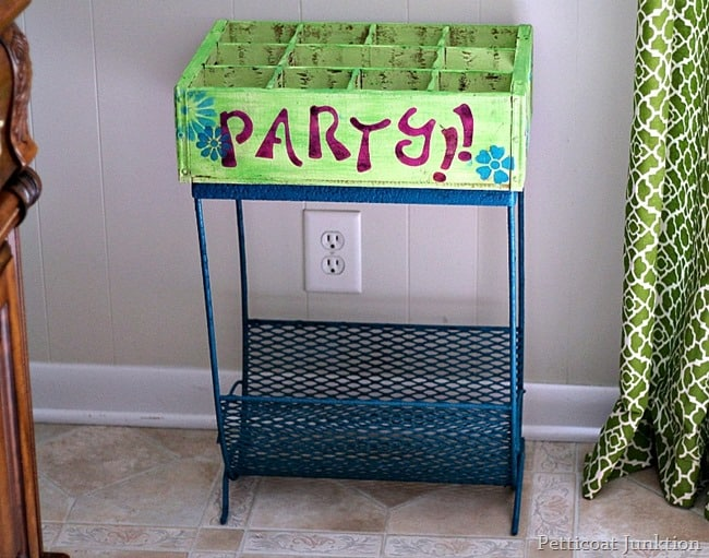 DIY Patio Party Station Petticoat Junktion