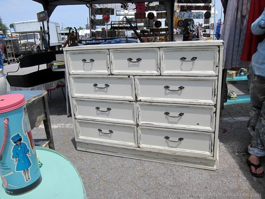 Did Someone Say White Furniture Nashville Flea Market