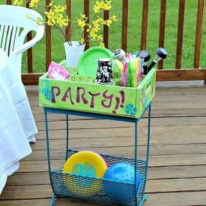 How To Create A Patio Party Station