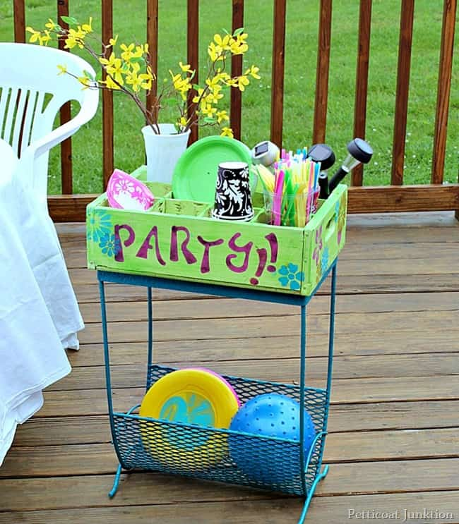 How To Create A Patio Party Station Petticoat Junktion ProBond project