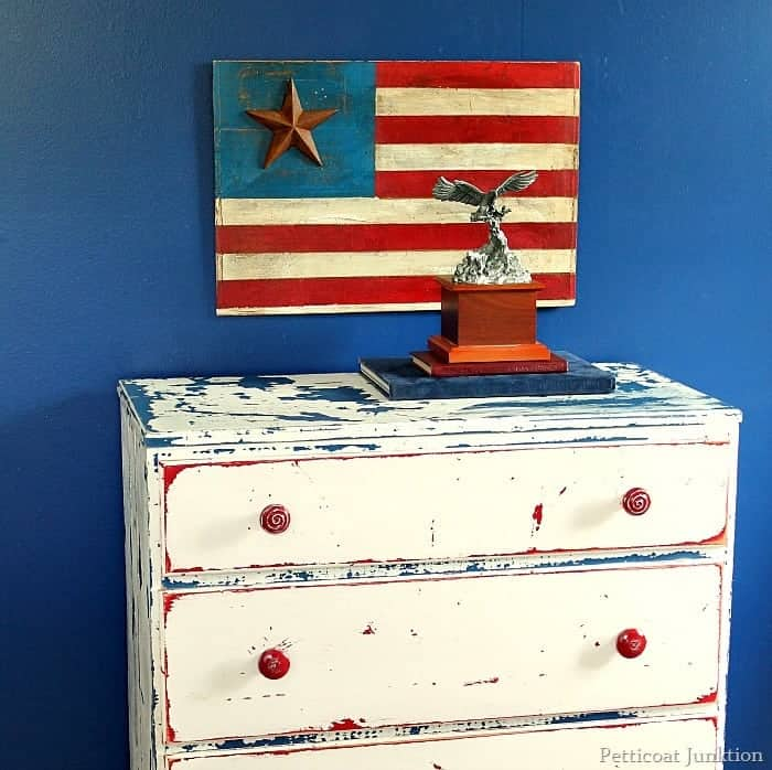 Red, White, and Blue DIY Projects