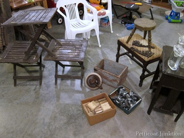 junk treasures from the 400 mile yard sale Petticoat Junktion