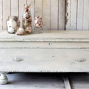 MMSMP Cedar Chest / 5 Days Of White Furniture