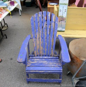 Reclaimed Wood Decor at the Nashville Flea Market