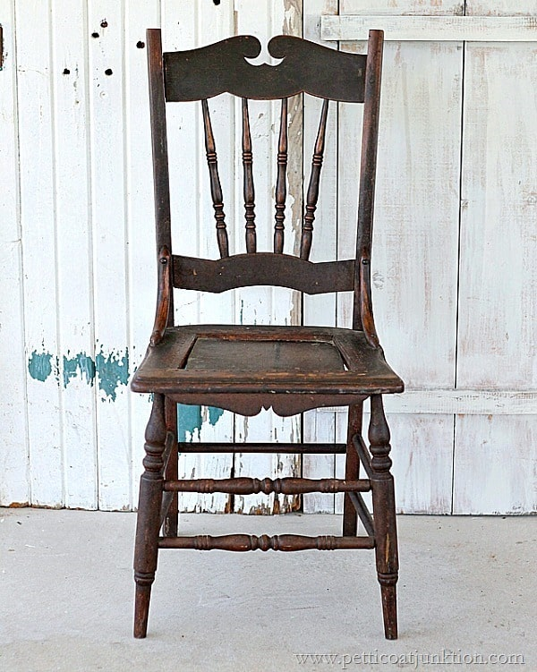 antique chair Nashville Flea Market Petticoat Junktion junkin' trip