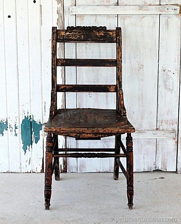 antique chair from the Nashville Flea Market Petticoat Junktion