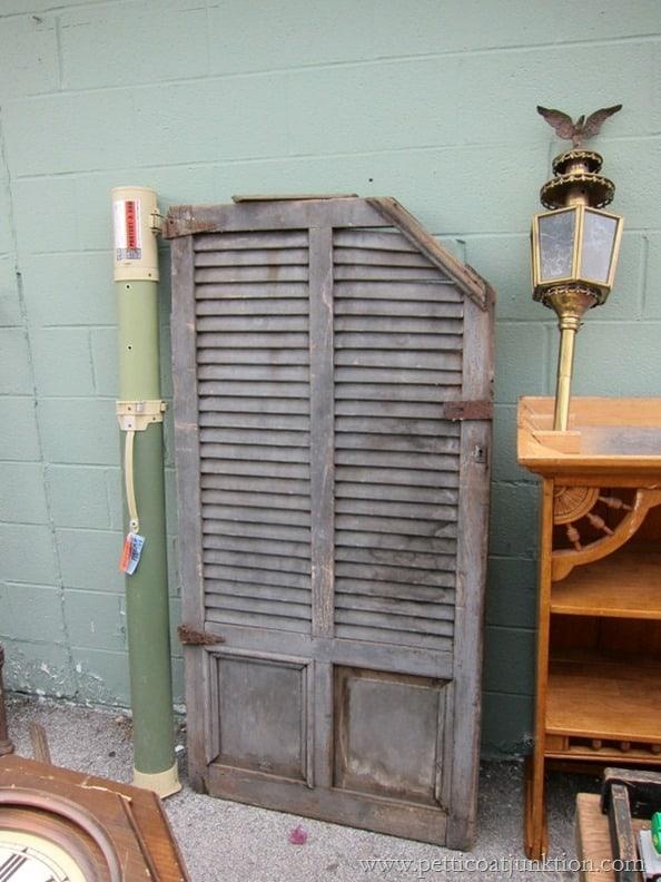 antique house shutters