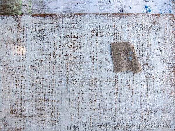 distressing paint Petticoat Junktion