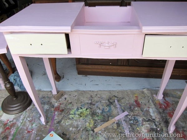 pink paint project Petticoat Junktion