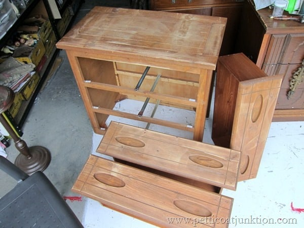 sanding furniture Petticoat Junktion
