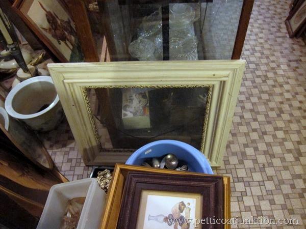 vintage frame junk find Petticoat Junktion