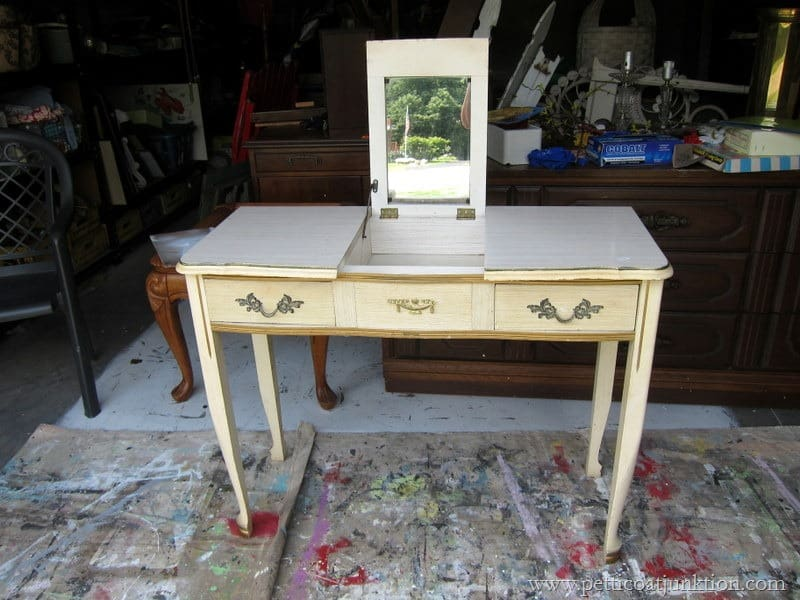 A Vain Vanity Vintage French Provincial Furniture