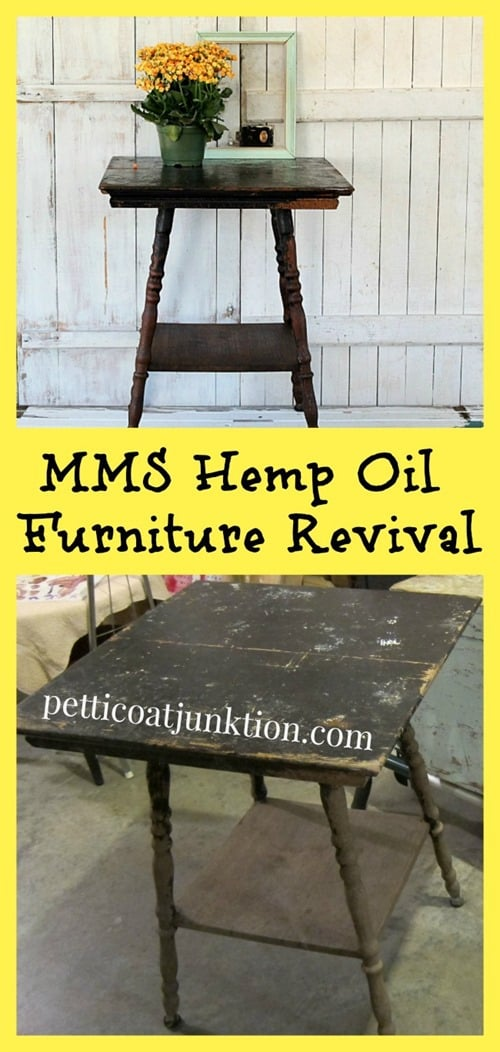 MMS Hemp Oil Furniture Revival Petticoat Junktion