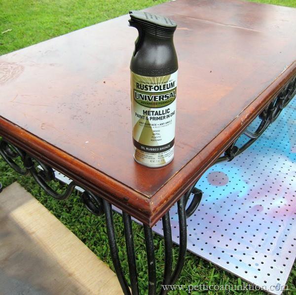 RustOleum Spray Paint project Petticoat Junktion