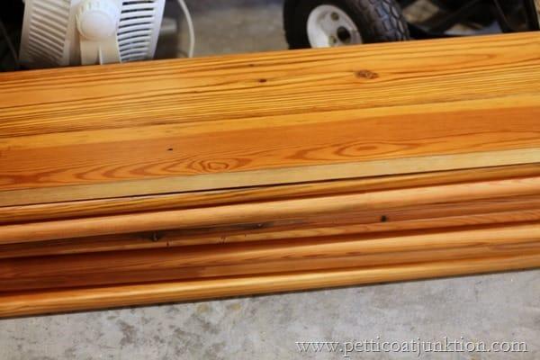 finished wood