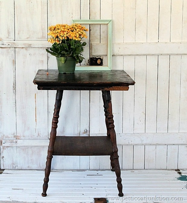 how to make an antique beautiful again Petticoat Junktion