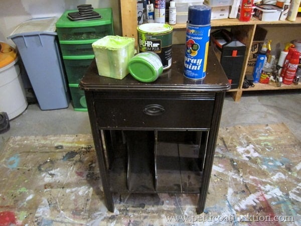 nightstand paint project petticoat junktion
