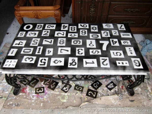 numbers table Petticoat Junktion