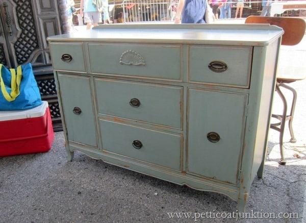 painted furniture Petticoat Junktion Junking Trip Nashville Flea Market (13)